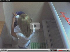 Voyeur webcam nude girl in solarium part6