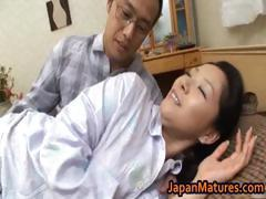 Ayane Asakura Mature Asian lady has sex part1