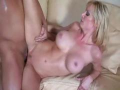 Holly Sampson has got awesome MILF boobs and her holes are even better