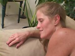 Two mature gals go lesbian and toy their pussies with dildos