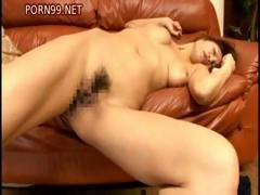 Busty brunette gets fucked hard in a lot of different positions