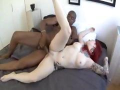 Nice Tattoo Girl Fucks With Hard Bbc