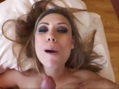 Cumshot compilation with all these babes getting massive facials