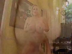 Sexy nude mature busty Samantha gets fucked by her friend