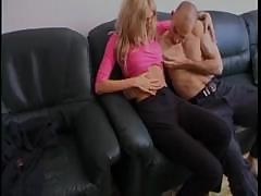 Amateur couple get turned on from a sex shop and go home to fuck