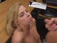 Facial cum shot compilation with all these babes getting it