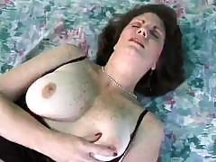 Mature lesbians are playing with toys and eating some pussy