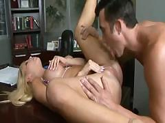 Tasha Reign gives her boss some special office time and fucks