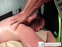 Scottie getting his awesome asshole massaged by massagevictim