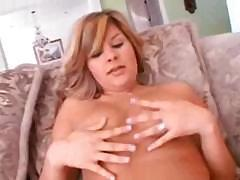 Big gal takes over and fucks the hell out of this guys dick