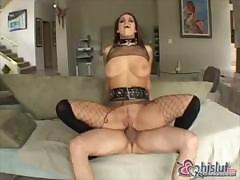 Lascivious big-boobied Mia Bang always thinks about having sex with somebody