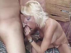 Anal fun with beautiful slim blonde and long experienced pecker