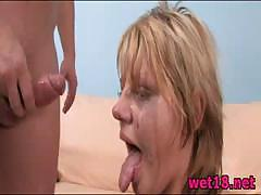 Teen fucked in the ass