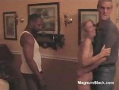 Interracial fuck party is only about to begin and you`ll like it
