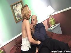 Lexi Belle nailed by huge rod