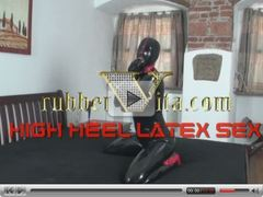 highheel latex sex