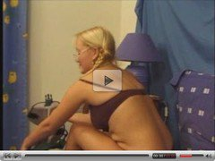 Blond babe russian and french guy (anal extra)