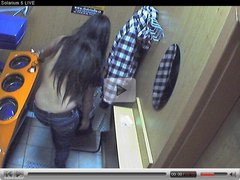 Voyeur webcam nude girl in solarium part18