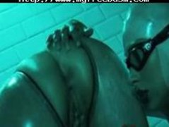 Latex Lesbo Shower By Snahbrandy bdsm bondage slave femdom domination