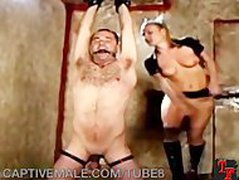 Hairy Sub Man Gets Femdommed