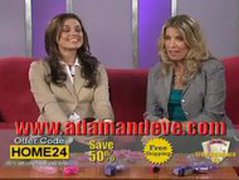 Adam  Eve TV Commercial Show  Clitoral Tongue Vibrating Ring Of