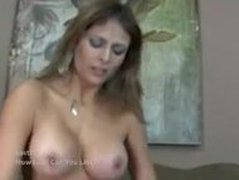 milf latina gets a thick creampie