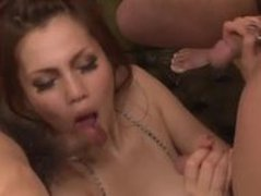 Ameri Ichinose Group Sucking  Cumshots