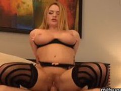 MILF Krissy Lynn Needs Money For Family By Fucking Sugar Daddy