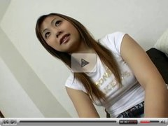 Cute Japanese teen  in jeans fucked hard