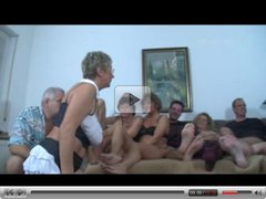 German Mature Swingers Fuck Party