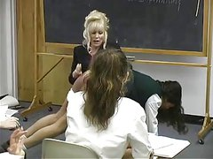 Girls spanked by her teacher 3