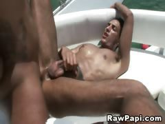 Hot Latino Stud Pounded And Jizzed