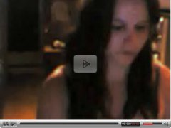 nice teen girl show front webcam part 1