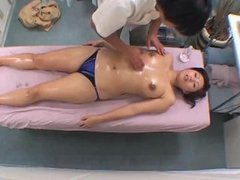 Spycam Teacher Spa Massage Orgasm Part 1