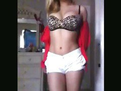 Super Hot Teen Strips And Fingers
