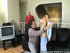 Hubby Watches Wife Fucked