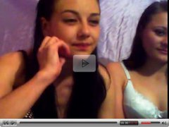 2 Russian Teen Girls Are Playing With Each Other