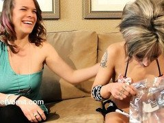 2 Girls Puking Contest