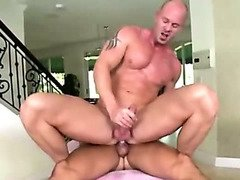 Straighty and gay cumshots