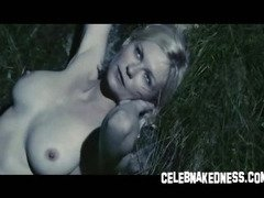 Celeb kirsten dunst completely nude with big bare natural breasts