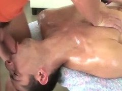 Turned straighty gay masseuse blowjob ass fuck