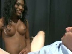 Tranny doctor fucking her male patient