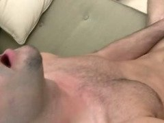 Porn hunk Tommy Dxxx caught jerking off by guy