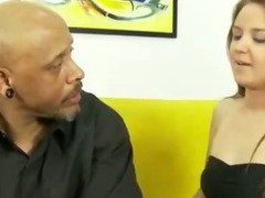 Step daughter gets horny for step daddy