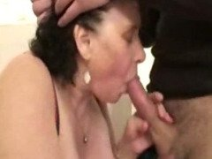 Ginette, french BBW gangbanged