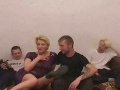 Mother Gangbanged By Son and Friends 2