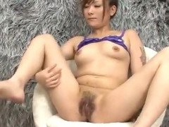 Innocent Miku Haruno spreads her legs for a nasty fingering that leaves her soaking wet with pussy juice