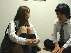 japan student with male student wacth AV annd then fucking
