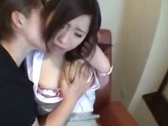 Office Lady Getting Her Pussy Licked Fingered Sucking Guy In The Hotel Room