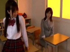 Teacher Getting Her Nipples Sucked Hairy Pussy Rubbed By Her Student In The Classroom